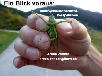 Präsentation Armin Zenker - KFH