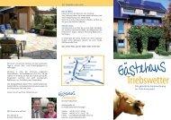 Unser Fewo Flyer zum Download - Ferienwohnung Triebswetter