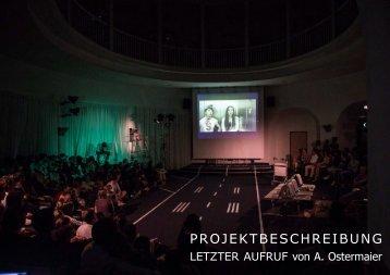 Projektbeschreibung LETZTER AUFRUF (kl) - Liz Rech