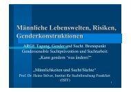 Vortrag Heino Stöver - Österreichische ARGE Suchtvorbeugung