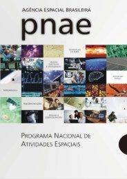 Programa Nacional de Atividades Espaciais (PNAE) - Inpe