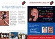Chris Tarrant - Black History Month