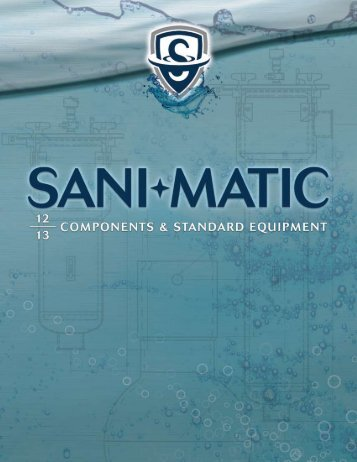 Components Catalog - Sani-Matic