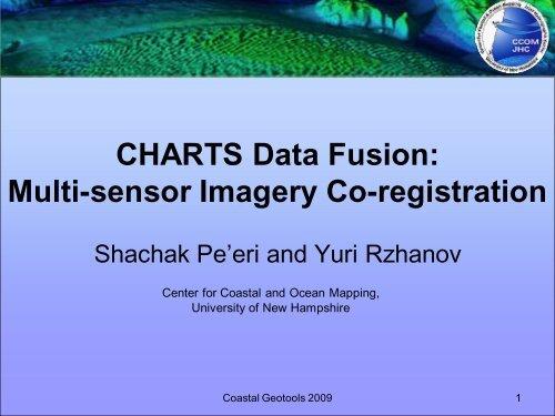 Shachak Pe'eri and Yuri Rzhanov, University of     - GeoTools - NOAA