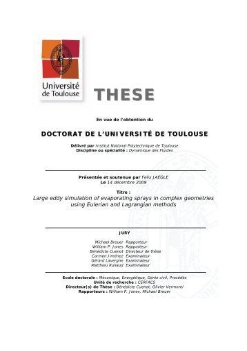 Lire - Les thèses en ligne de l'INP - Institut national polytechnique de ...