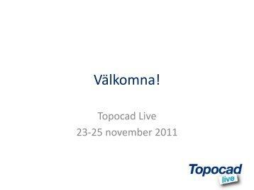Välkommen till Topocad Live! - Adtollo