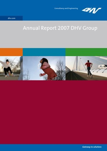 Annual Report 2007 DHV Group