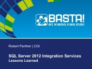 SQL2012SSIS_LessonsLearned_Panther - Robert Panther on SQL ...