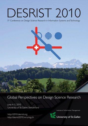 DESRIST 2010 Programmheft V18 web.indd