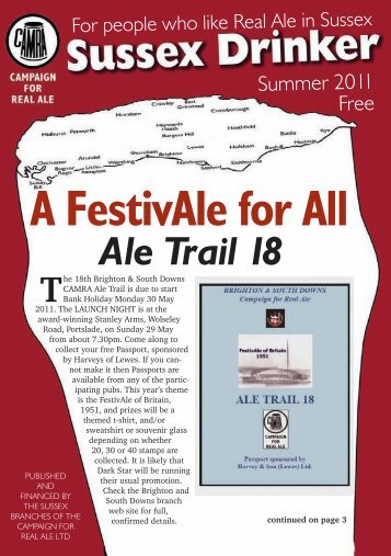 A FestivAle for All - Arun & Adur CAMRA