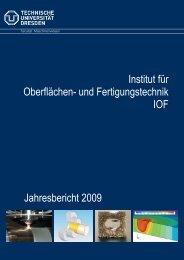 Jahresbericht 2009 - Technische Universität Dresden