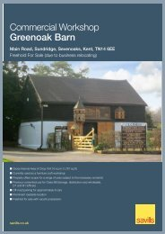 Commercial Workshop Greenoak Barn - Savills