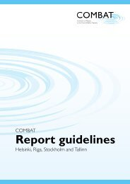 Report guidelines - Covenant of Mayors