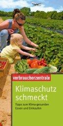 Klimaschutz schmeckt - Verbraucherzentrale Niedersachsen