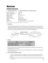 Installation Instructions - Klaxon Signals Ltd.