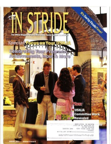 In Stride Magazine - August 2011 - Phelps Media Group