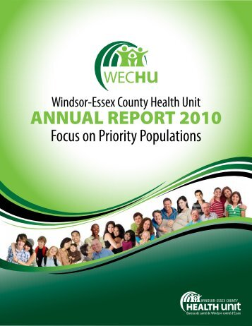 ANNUAL REPORT 2010 - Windsor Essex County Health Unit