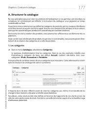 A. Structurer le catalogue - Decitre