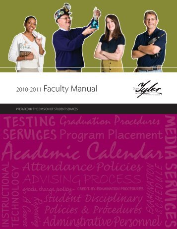 2010-2011 Faculty Manual - John Tyler Community College