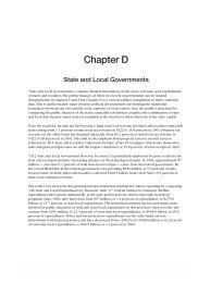 Chapter D: State and Local Governments - Tax Foundation