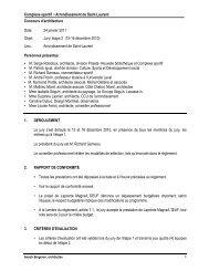 Rapport Jury étape 2 - Montréal Ville UNESCO de design