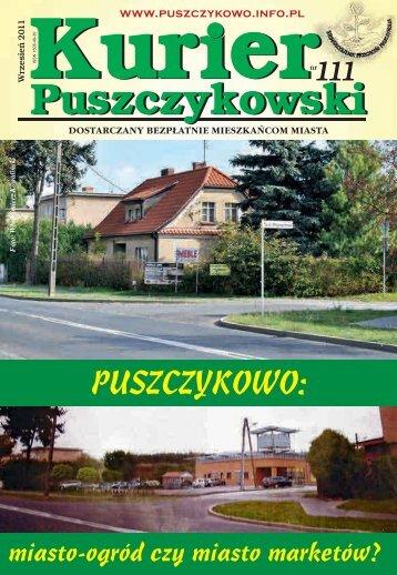 Kurier 111-fonty-2.indd - Stowarzyszenie Przyjaciół Puszczykowa