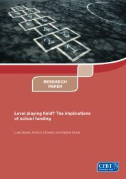 Report - The Institute For Fiscal Studies