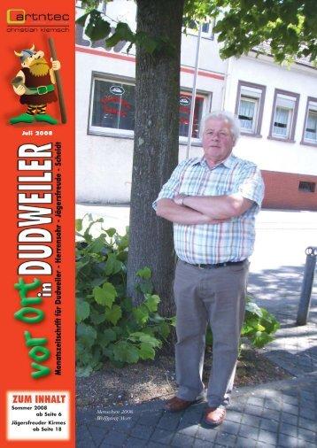 Juli 2008 Menschen 2008 Wolfgang Morr - artntec