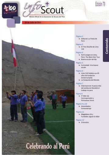 Info SCOUT 79 - Scouts del Perú