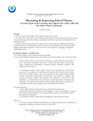 Measuring & Improving School Climate: - Center for Schools and ...