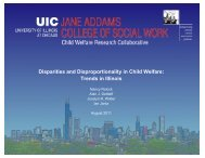 Disparities and Disproportionality in Child Welfare - Center for ...