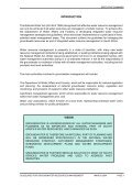 executive summary - iwrm - Page 4