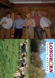 Newsletter No. 70: December 2010 - Longhorn Cattle Society