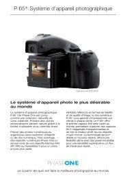 P 65+ Système d'appareil photographique - Kelvin-pro
