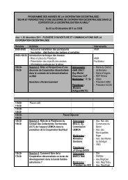 programme des assises de la cooperation decentralisee - Grdr