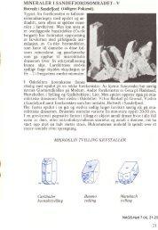 Mineraler fra Sandefjordsområdet- IV pdf - NAGS