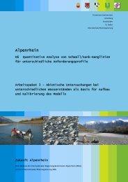 Arbeitspaket 3 - Internationale Regierungskommission Alpenrhein