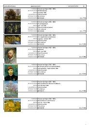 12 kunstenaar Vincent van Gogh (1853 - 1890) - Kröller-Müller ...