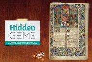Hidden Gems Fall 2011 - Free Library of Philadelphia