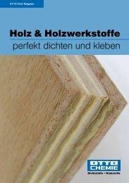 Holz & Holzwerkstoffe perfekt dichten und kleben - Northe