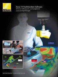 Focus 10 Punktewolken-Software - Nikon Metrology