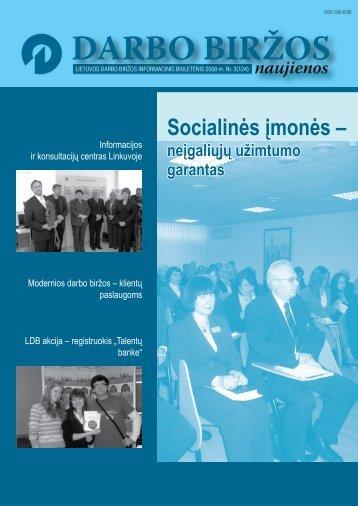 DBN 2008 03.pdf - Lietuvos darbo birža