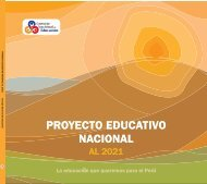 proyecto educativo nacional proyecto educativo nacional - Consejo ...