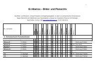 IG Albatros – Bilder- und Planarchiv