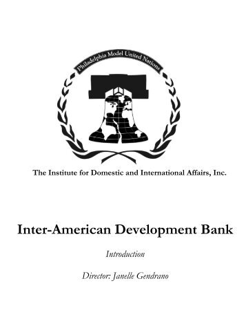 Inter-American Development Bank - IDIA