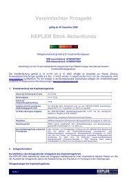 KEPLER Ethik Aktienfonds VVKP 30.12.08_neu - boerse-live.at
