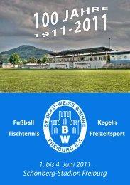 Fußball-Abteilung - SV Blau-Weiss-Wiehre