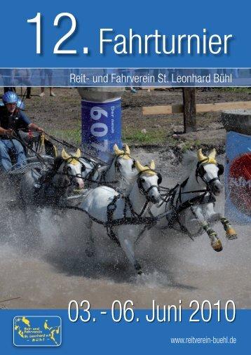 12. Fahrturnier - Reit- und Fahrverein Bühl eV