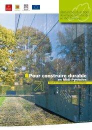 Pour construire durable - Environnement en Haute-Garonne