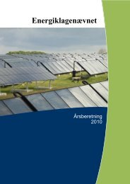 Årsberetning 2010 - Energiklagenævnet